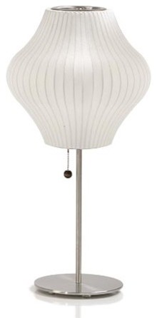 Nelson | Lotus Table Lamp - Pear contemporary-table-lamps