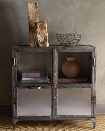 Metal Cabinet  contemporary-dressers