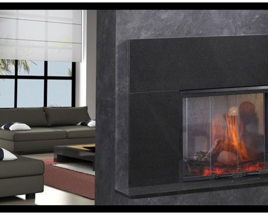 Simplifyre See-Through Electric Fireplace -