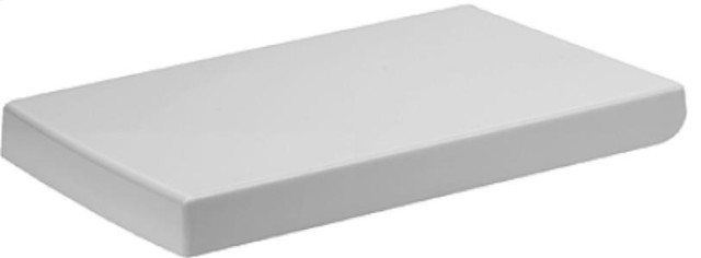2nd Floor Collection White Toilet Seat and Cover By Duravit contemporary-toilet-seats