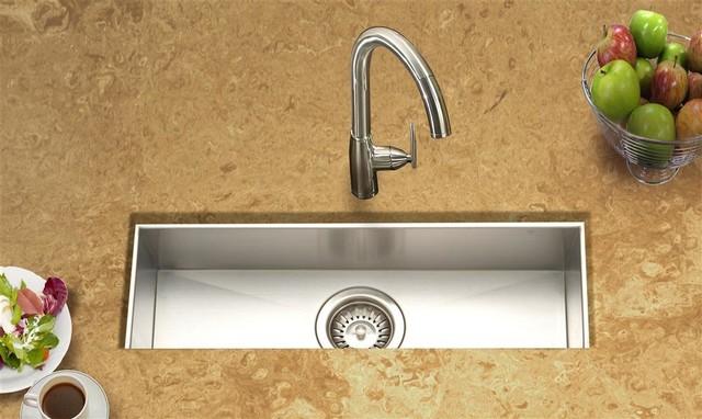 Contempo Trough Bar-Prep Sink contemporary-bar-sinks