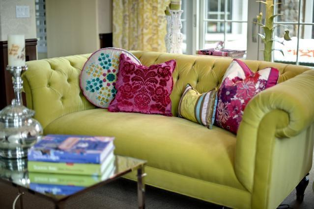 Flowerburst Court eclectic-living-room