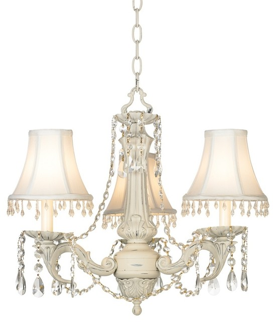Kathy Ireland Chateau de Conde 3 Light Chandelier