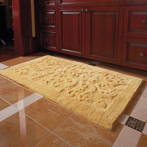 Interiors Furniture Design Bath Rugs And Accessories - Spa bathroom rugs for bathroom decorating ideas