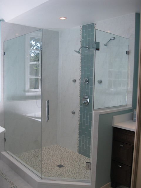 Residential Bath with slight Asian influence modern-bath-products