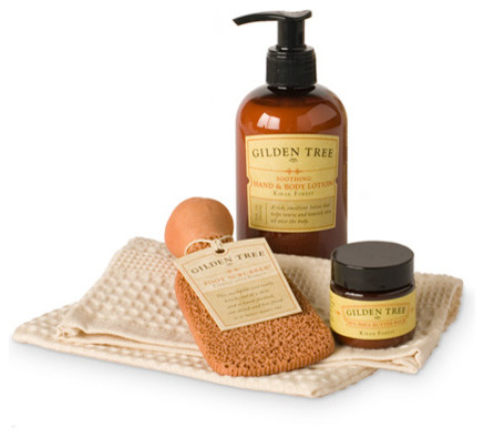 Natural Home Spa Essentials traditional