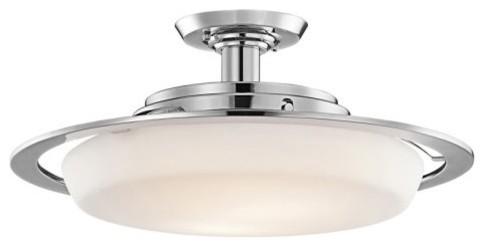 Kichler 42209CH Convertible 2-Light Semi-Flush Mount contemporary-ceiling-lighting