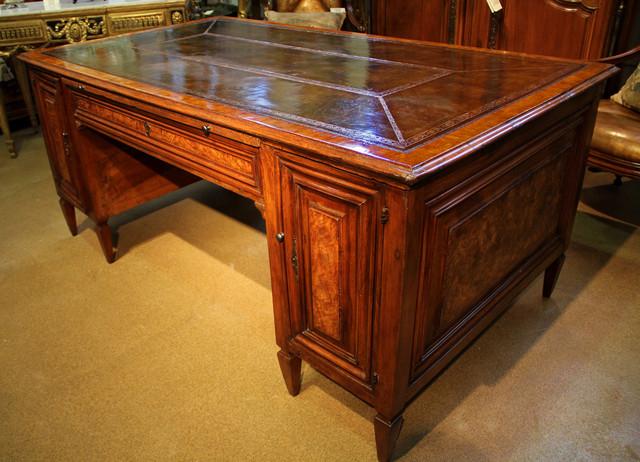 An 18th Century Italian Louis XVI Neoclassical Walnut Desk - Traditional - Desks And Hutches ...