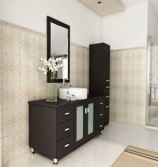 "47"" Grand Lune Single Bathroom Vanity modern"