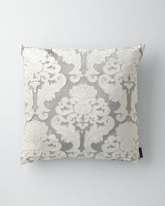 "22""Sq. Velvet Versailles Pillow traditional-decorative-pillows"