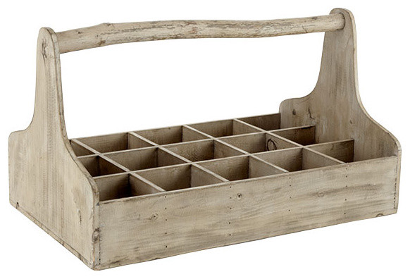 Multipurpose Wooden Box - Traditional - Storage Bins And Boxes - by Wisteria