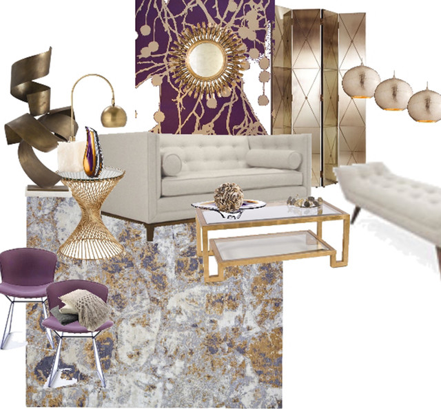 ROYAL ELEGANCE WITH CONTEMPORARY TWIST eclectic