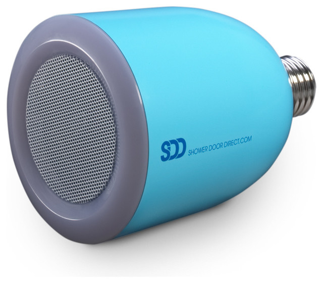 Bulbtunes - LED Light Bulb with Bluetooth Speaker, Blue - Modern - Bathroom Accessories - by ...