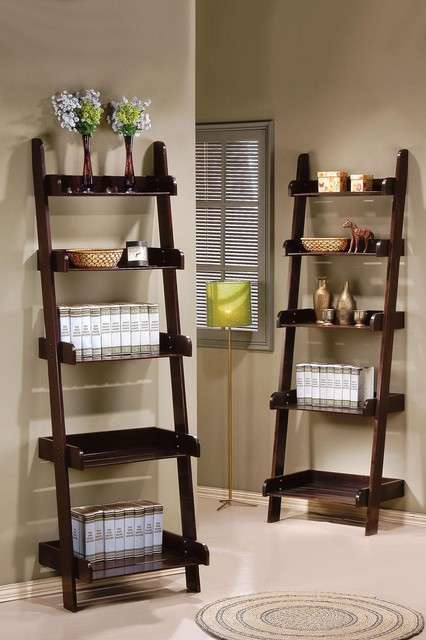 wall shelf in espresso contemporary display and wall shelves