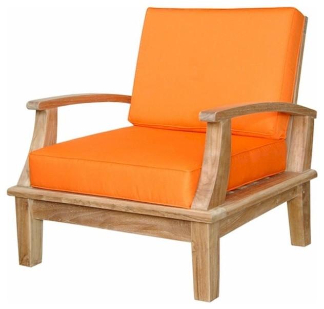 Brianna Deep Seating Armchair Cushion Modern Outdoor