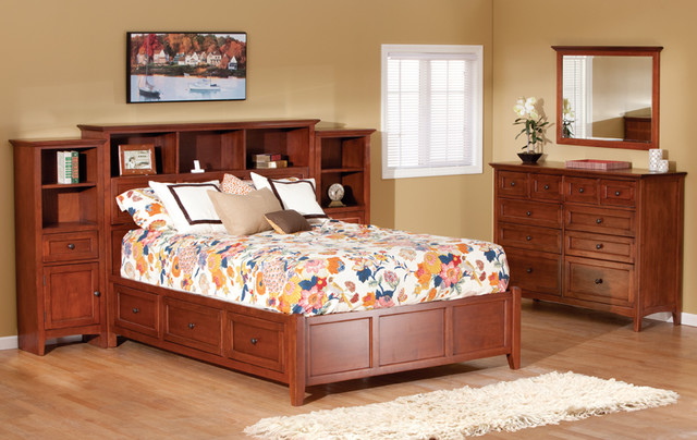 Storage Bed traditional-beds