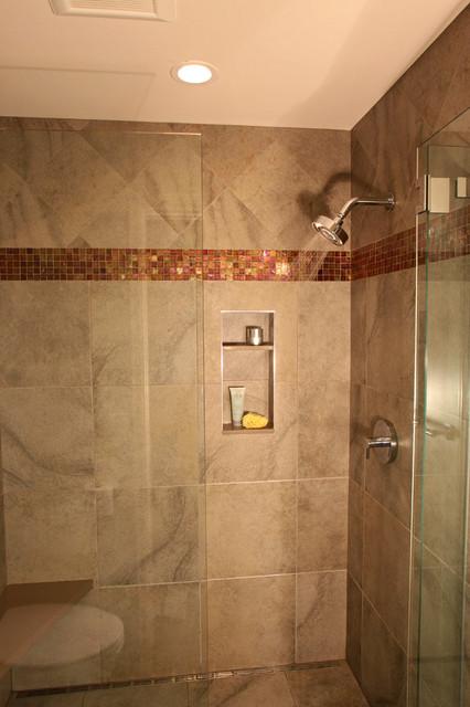 Triple Play - 3 Bath Remodels! transitional-bathroom