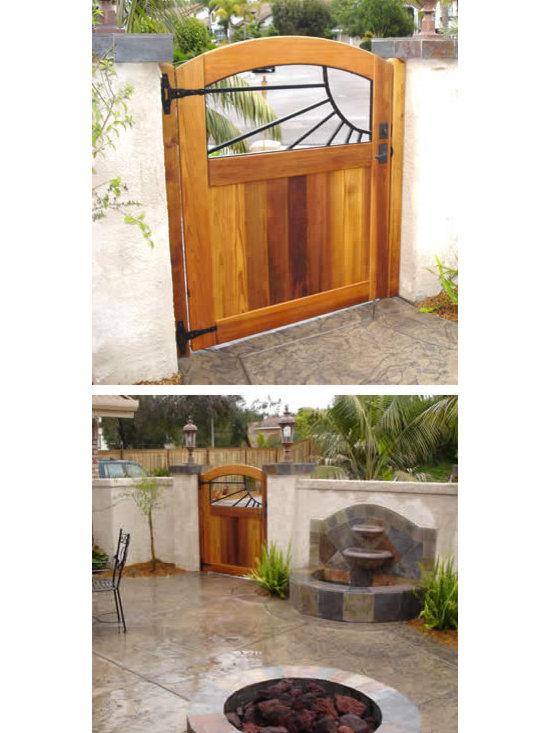 custom gates -