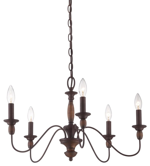 Quoizel Lighting HK5005TC Holbrook Chandelier  chandeliers