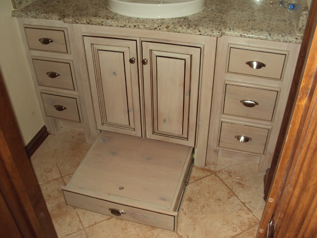 Custom Cabinets Traditional Bathroom Vanities And Sink Consoles Oklahoma City By