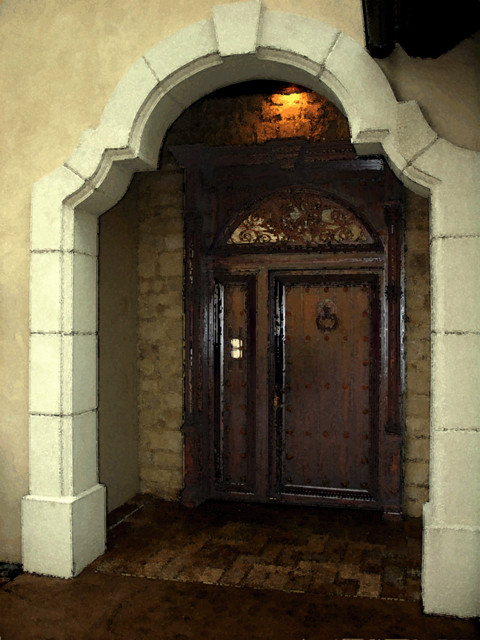 TUSCAN traditional-entry