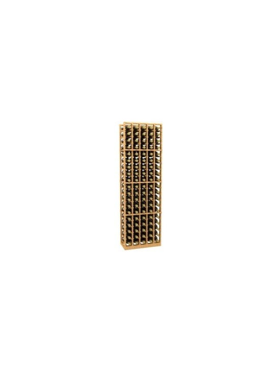 5 Column Wood Wine Rack - The 5 Column Wood Wine Rack is part of our 6' Series.