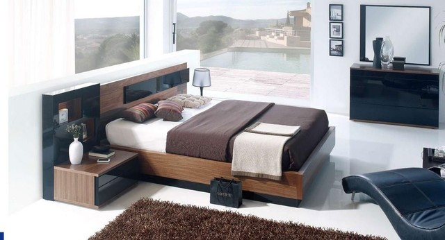 Made in Spain Wood Modern Furniture Design Set with Extra Storage ...
