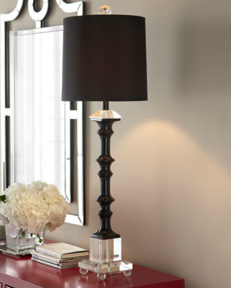 Quot Pacifica Quot Buffet Lamp Contemporary Table Lamps By