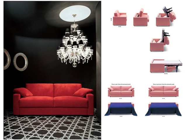 Modern sofa beds - SB 26 - Made in Italy modern-sofa-beds