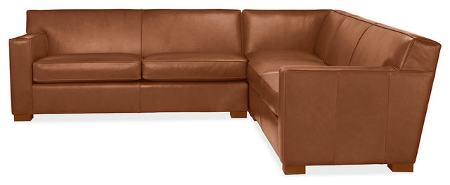 Dean Leather Sectional - - sectional sofas - - by Room & Board
