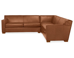 Dean Leather Sectional  sectional sofas
