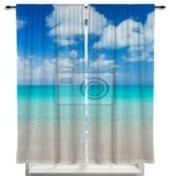 Beach themed window curtains page 2