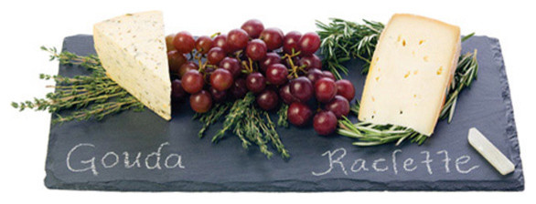 Slate Cheese Serving Tray contemporary-serving-trays