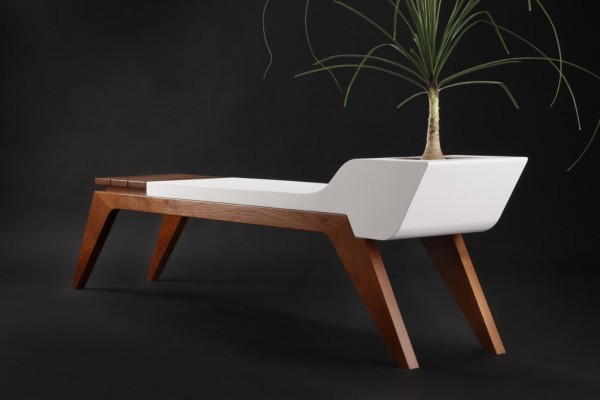 modern indoor benches