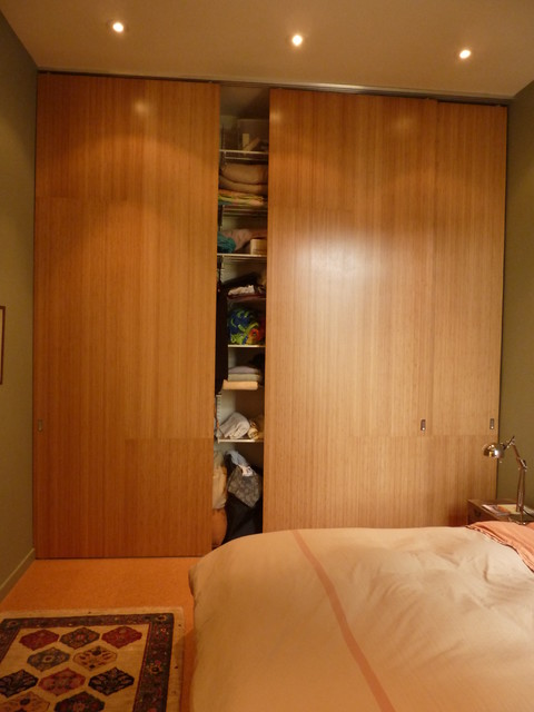 Master closet - modern - bedroom - san francisco - by At-Six ...