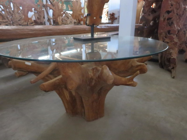 Teak Root Rustic Dining Tables other metro by  : rustic dining tables from www.houzz.com size 640 x 480 jpeg 57kB