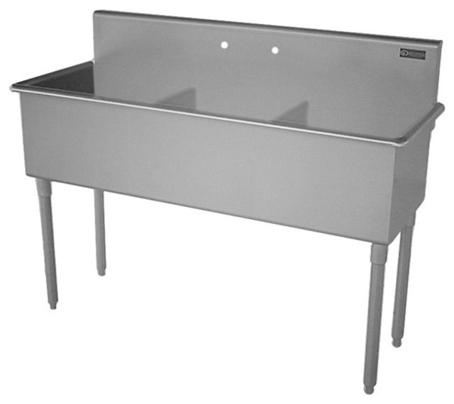Utility Sink Stainless Steel Freestanding : All Products / Laundry / Utility Sinks