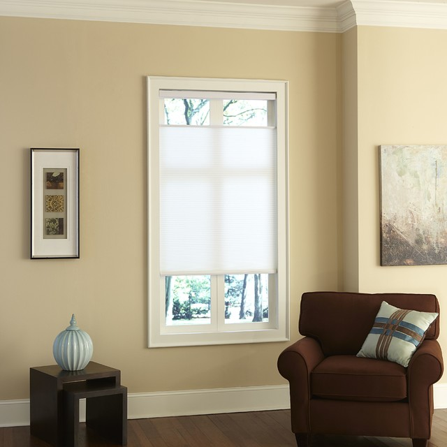 Cordless top down bottom up cellular shades for 18 inch window blinds