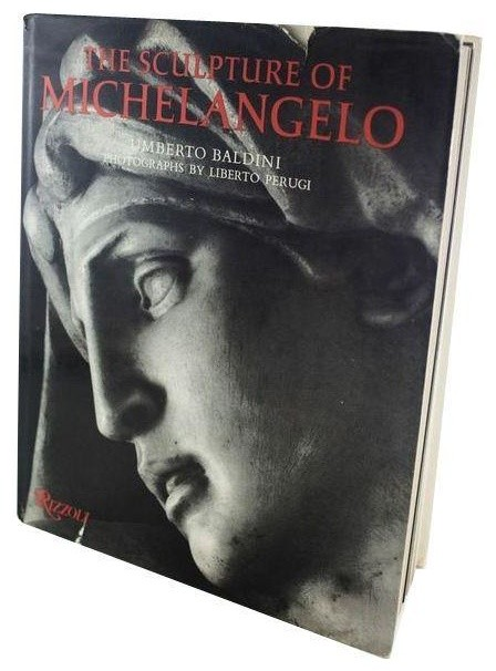 Consigned Vintage Book: Sculpture of Michelangelo traditional-books