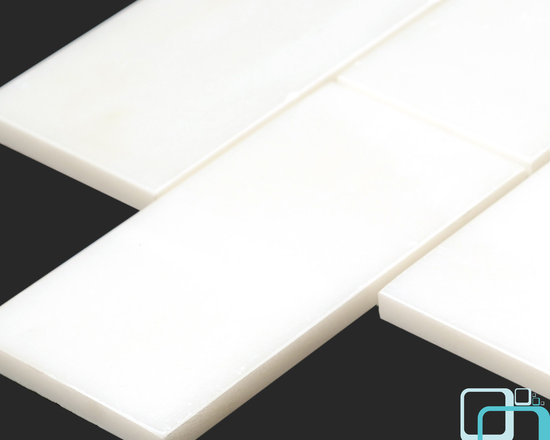 Arctic White Marble 3x6 Subway Tile - White has always been a color of elegance and you can choose it as a theme for your interior when you purchase the Arctic White Marble Collection. This tiles spark beauty wherever they are installed; in the bathroom, kitchen, living room or even out door. Using either a classic or modern style approach, it's about time you transformed how your house looked with Arctic marble tiles. http://AllMarbleTiles.com