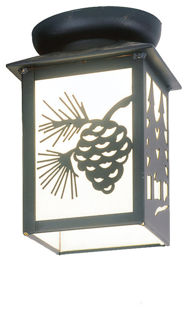 ceiling porch light twin tree small rustic outdoor