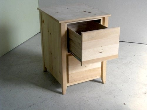 Unfinished 2 Drawer Wooden File Cabinet - Country - Nightstands And Bedside Tables - boston - by ...