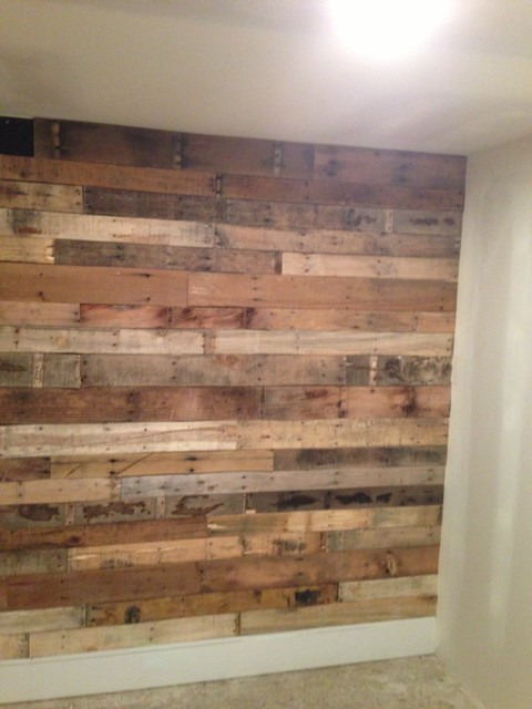 Man Cave Store Michigan City : Pallet wall
