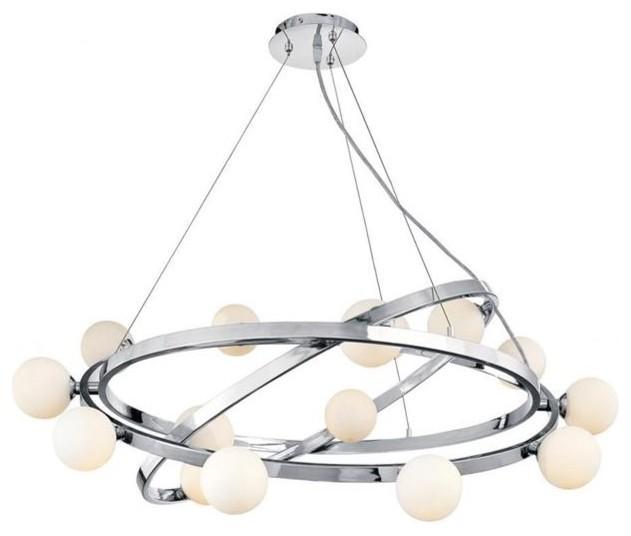 Access Lighting 23980-CH/OPL chandeliers