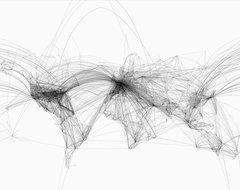 Air Lines Print modern-artwork