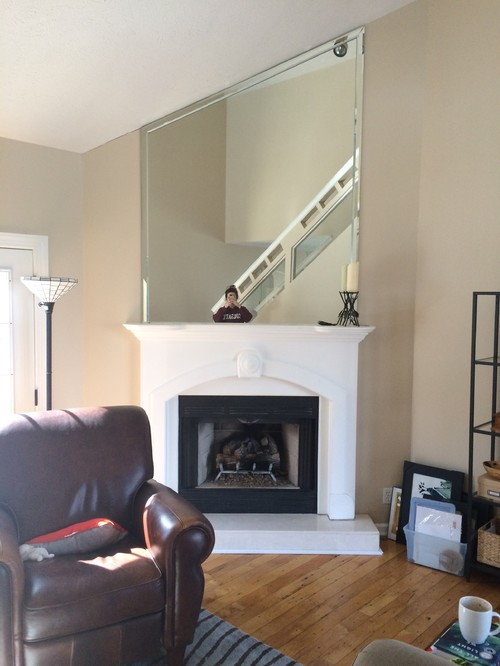 What to do with my fireplace / mantle