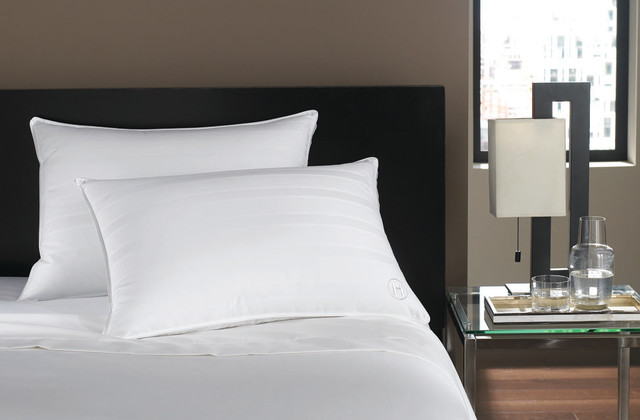 hotel collection bedding standard queen soft down pillow