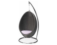Hanging Egg Occasional Chair contemporary-outdoor-lounge-chairs