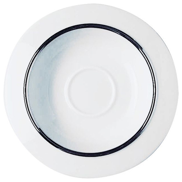 Alessi Filetto Saucer for Mocha Cup modern-plates