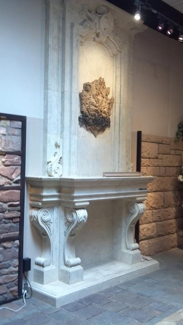 Fireplace surround Mantel in Los Angeles, Irvine California indoor-fireplaces